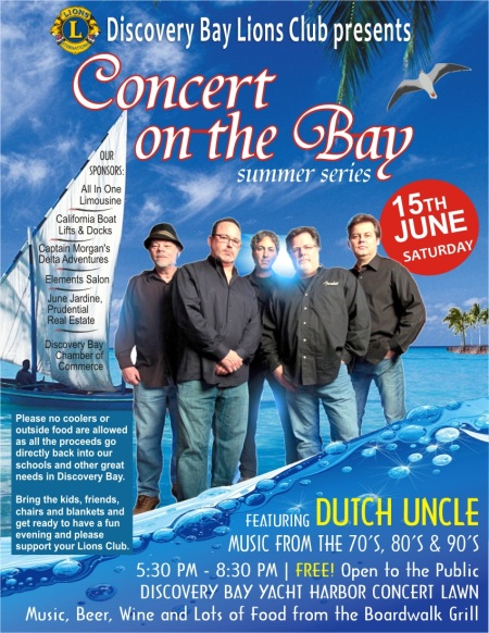 concert by the bay postr
