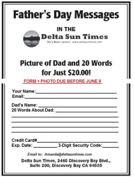 Fathers Day Form