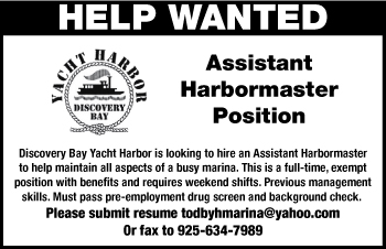 Assistant Harbormaster Position Opening