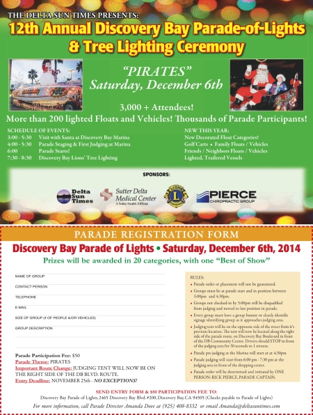 2014 Parade of Lights Reg form